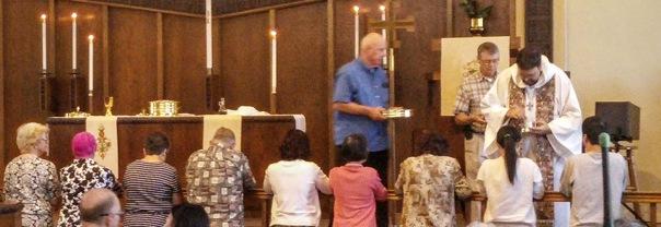 church at communion 2